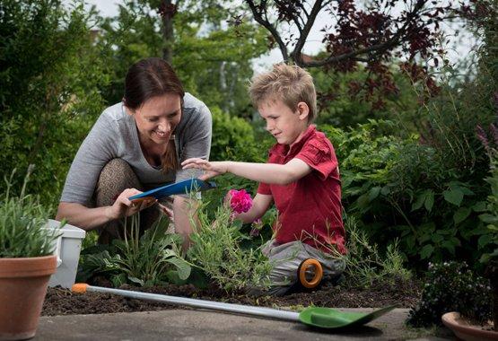 Le jardinage est un jeu d'enfant