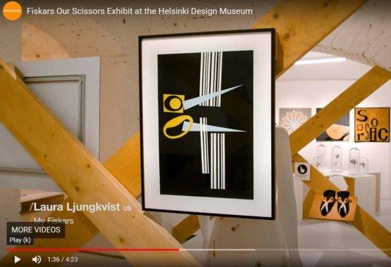 Onze Scharen Tentoonstelling in het Helsinki Design Museum VIDEO