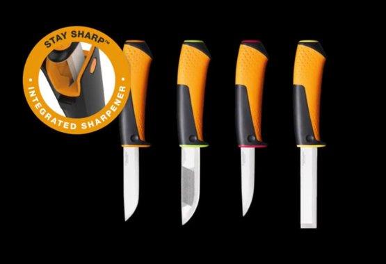 Nouvelle gamme de couteaux de bricolage avec aiguiseur intégré