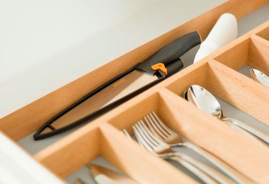 Faciles à utiliser, à laver et à ranger
