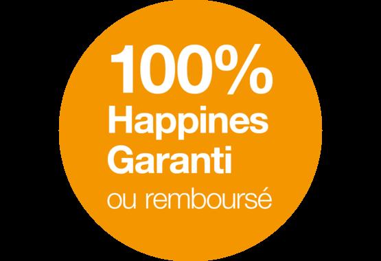 Notre garantie de bonheur