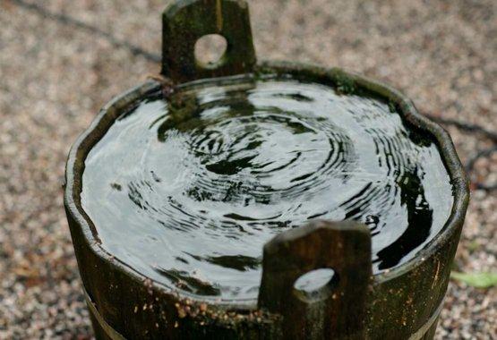 Vang regenwater op