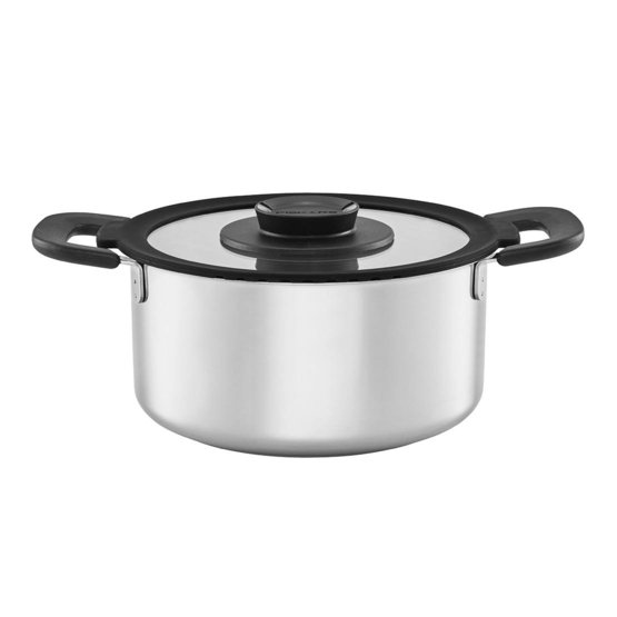 FF pan 3,0L, roestvrij staal