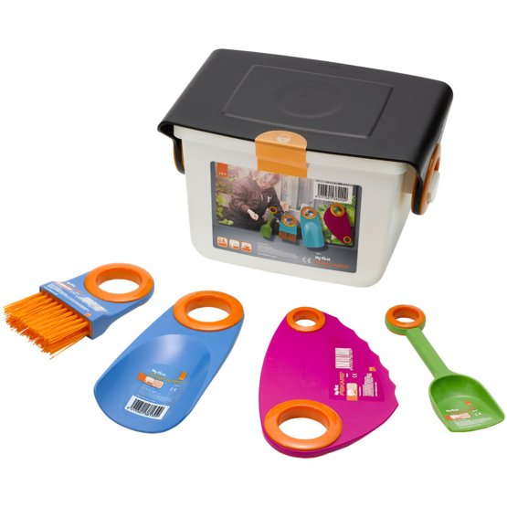 My First Fiskars Box Set met kleine tuingereedschappen