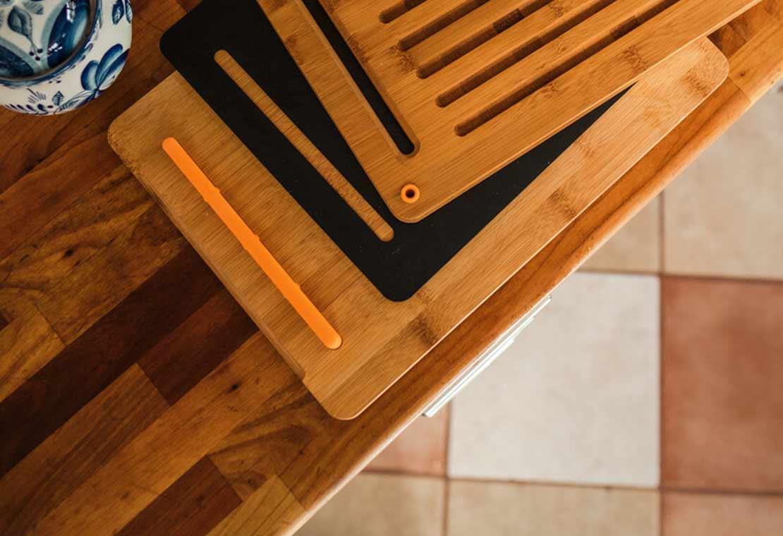 Functional Form Set bamboe snijplanken